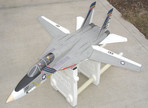 6MMfly F14 Tomcat wings open