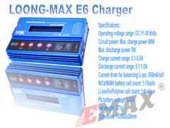 Emax charger tech blue